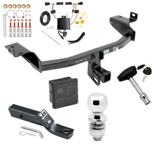 Trailer Tow Hitch For 2019 Jeep Cherokee Deluxe Package Wiring 2 Ball Lock
