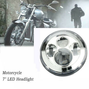 7 motorcycle Headlight Universal Projector Hi lo Beam For Harley Jeep Wrangler