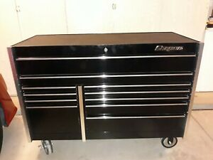Snap on Krl722bpc Gloss Black 54in 11 Drawer Tool Box Never Used