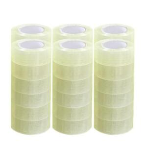 Packing Tape 36 Rolls 1 9 X 110 Yards 330 Ft Box Carton Sealing Clear 2 Mil