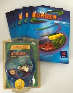 Avery After Burner Complete Cd dvd Labeling System New Package With Labels