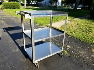 Stainless Steel Medical Utility Cart Lakeside Mfg 311 Local Pick Up Chicago