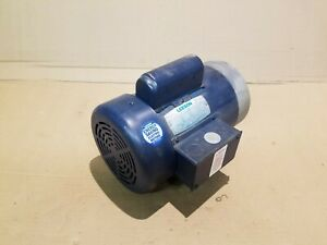2 Hp 2850 Rpm 110 220v Leeson Electric Motor Tefc 7 8 Shaft