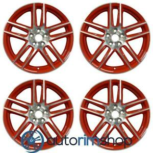 Ford Mustang 2012 2013 2014 19 Oem Staggered Wheel Rim Set