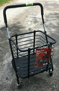 Milwaukee Shopping Cart Hold Up To 125 Lbs Heavy Duty Steel Basket Grocery