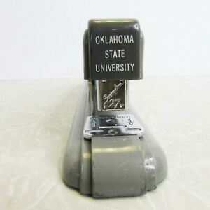Oklahoma State University Vintage Swingline 27 Stapler Gray Osu Desktop Usa