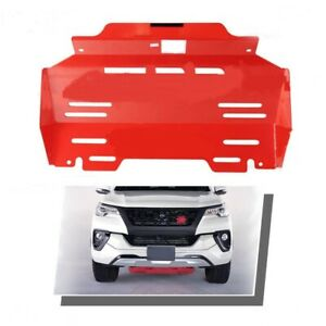 Red Trd Skid Plate Under Engine Cover For 2015 2016 2017 Toyota Fortuner New
