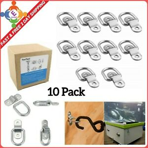 Tootaci 10 Pack Lashing Rings D Ring Tie Down Load Anchor Trailer