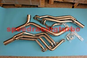 4 1 Long Tube Exhaust Header Manifold For 93 97 Camaro firebird Lt1 V8 Y Pipe Ss