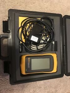 Fluke Onetouch Series Ii Pro Network Assistant Tester Analyzer Complete Set
