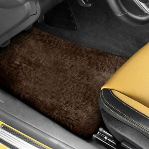 For Dodge Meadowbrook 49 52 Tailor made Sheepskin 1st 2nd Row Brown Floor Mats
