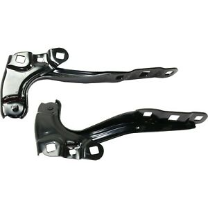 New Set Of 2 Hood Hinges Driver Passenger Side For Chevy Lh Rh Equinox 18 Pair