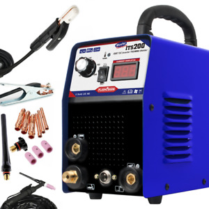 200 Amp Inverter Welder Igbt Arc Tig Welding Machine 110 220v In Us Stock