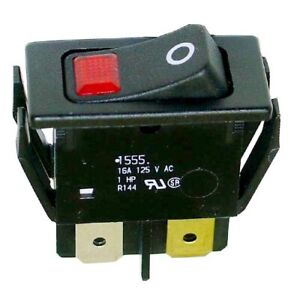 On off Lighted Rocker Switch 16a 125v
