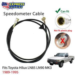 Speedometer Cable Fit For 1989 1995 Toyota Hilux 5th Gen Ln80 Ln85 Ln100 Ute