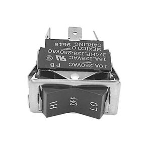 Curtis Oem Wc 124 Off momentary On Lighted Rocker Switch 16a 250v