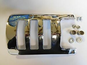 New 1958 1959 Chevy Gmc Truck Bed Moulding Rear Chevron Louver End