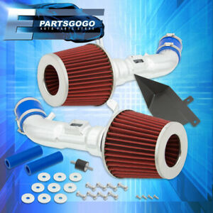 For 09 19 Nissan 370z 08 13 G37 3 7l V6 Performance Dual Air Intake Induction