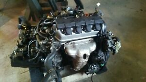 2001 2005 Honda Civic Engine 1 7l A2 Vtec Sohc Us Engine 150k