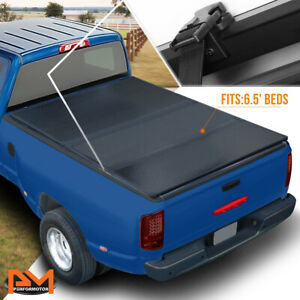 Hard Solid Tri fold Tonneau Cover For 02 09 Dodge Ram Truck W 6 5ft Short Bed