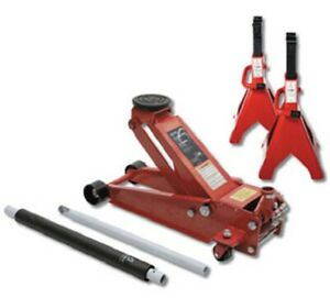 Sunex 66037jpk 3 5 Ton Capacity Service Jack With Quick Lifting System