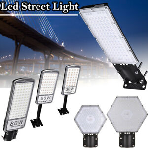 30w 50w 80w 100w 300w Led Road Street Lights Yard Garden Spotlight Security Lamp