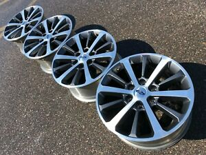18 Ford F150 Fx4 Expedition Ranch Limited Oem Factory Stock Wheels Rims 6x135