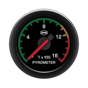 Isspro Ev2 Series Pyrometer Gauge With Color Band 0 1600f R32092