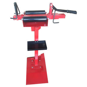 Vertical Manual Tire Repair Equipment Tire Changer Truck Tire Mending Machine