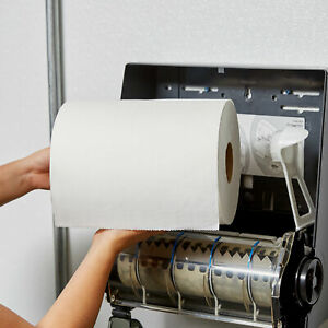 Lavex Janitorial 10 White Aircell tad Premium Paper Towel 700 Feet Roll