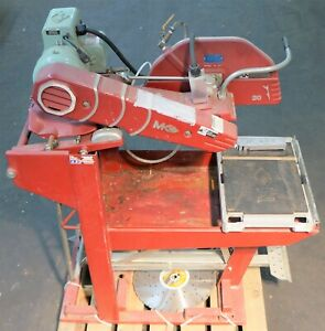 Mk Diamond Mk5005s 20 Inch Concrete Block Brick Saw Single Phase 220 240v 160634