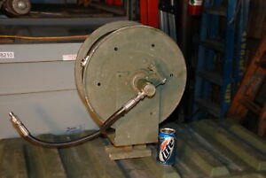 Hannay Reels 1014 14 16 Power Washer Truck Hose Reel 70 Ft millitary Inv 18247
