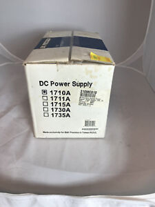 Bk Precision Dc Power Supply 1710a 0 30v 0 1a 70w New In Box ref 018