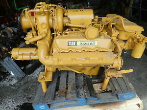 Caterpillar 3208 Turbo Diesel Engine Marine Spec Rebuilt Cat 1z V8