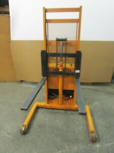 Rol lift Rol Lift Walk Behind 12v Electrical Up down 2000lbs Stacker Lift
