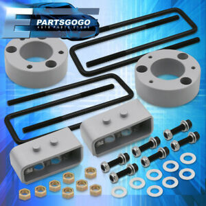 For 04 19 Ford F150 4wd Silver 3 Front 2 Rear Leveling Off roading Lift Kit