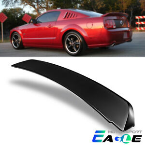 For 2005 2009 Ford Mustang Gt500 Ducktail Style Black Rear Trunk Spoiler