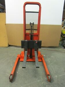 Lee Ba862 2000 Walk Behind 12v Electrical Up down 2000lbs 1t Stacker Lift