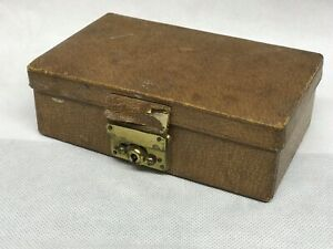 1920 S Leather Fitted Jewellery Box