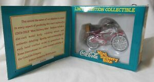 Coca-Cola Bicycle Miniature Die Cast Metal Body – Limited Edition!