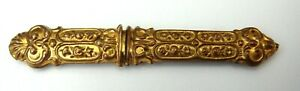 Needle Case Sterling Silver Vermeil English Victorian C 1850