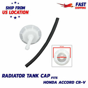 Radiator Coolant Reservoir Overflow Tank Cap Rubber Hose For Honda Accord Acura