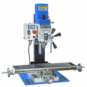 Pm 25mv Vertical Bench Top Milling Machine Variable Speed Free Shipping