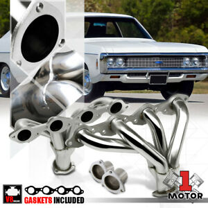Exhaust Headers Manifold For 66 96 Chevy Big Block Hugger 396 502 Bbc Street Rod