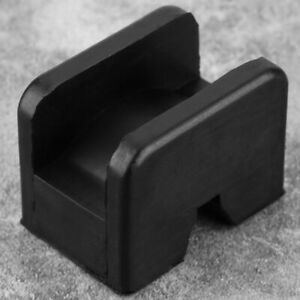 Slotted Frame Rail Floor Jack Disk Rubber Pad Adapter For Pinch Weld Side Useful