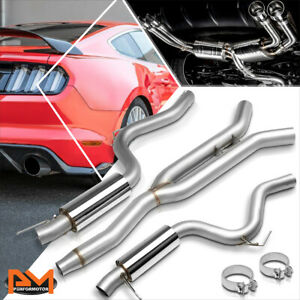 For 15 18 Ford Mustang 2 3l Ecoboost 3 od In outlet S s Catback Exhaust System