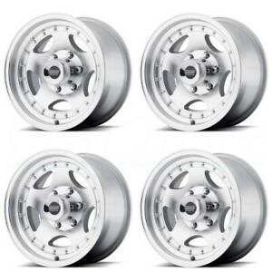 15x7 American Racing Ar23 5x114 3 5x4 5 6 Machine Wheels Rims Set 4