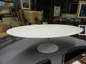 Original Table Design Knoll Tulip With Marble Years 70