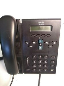 Cisco Cp 6921 Business Ip Phone 2 line With Handset Stand