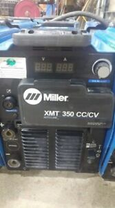 Miller Xmt 350 Cc cv Multiprocess Welder 2012 2011 Years